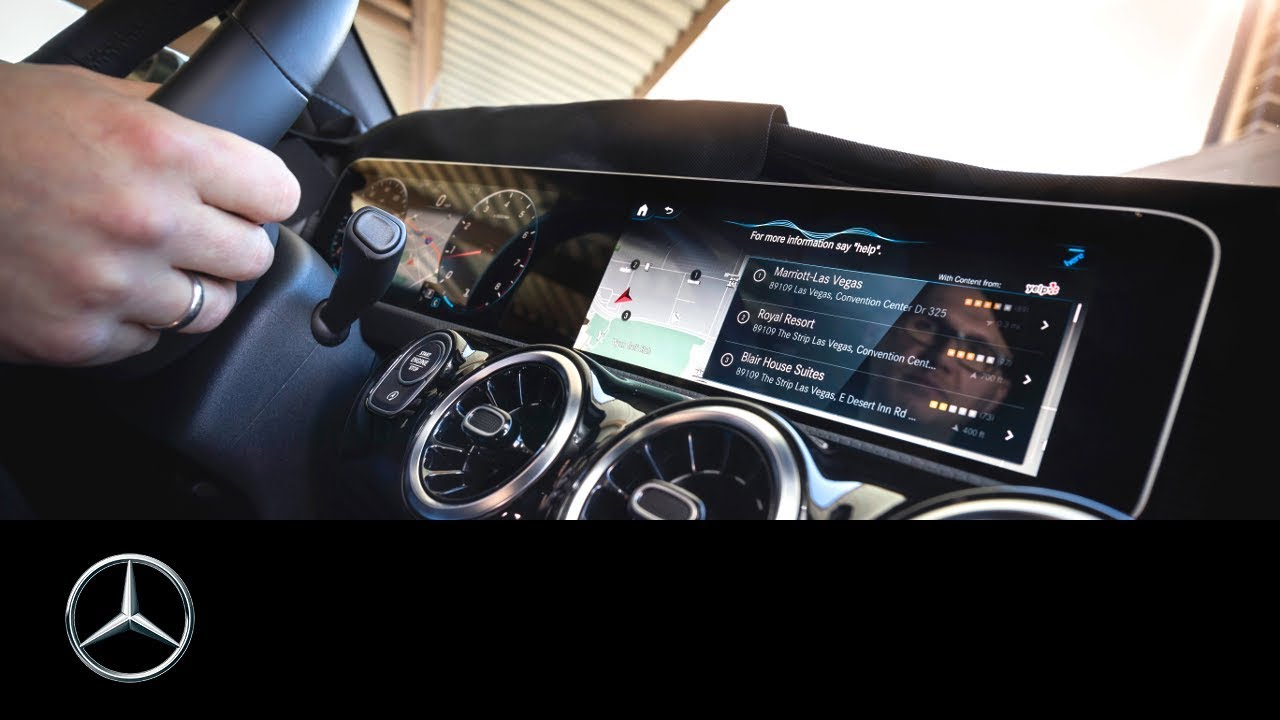"Mercedes-Benz เผยข้อมูลอินโฟเทนเมนท์สุดล้ำ ""MBUX"" ติดตั้งครั้งแรกใน A-Class"