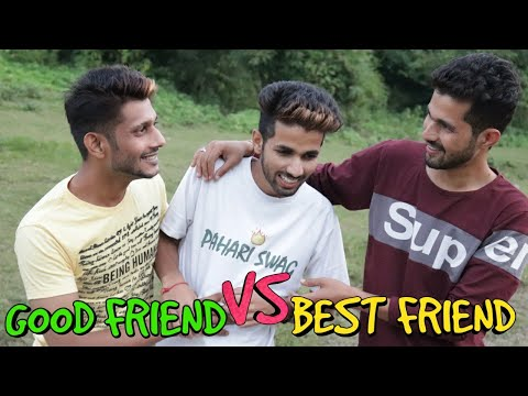 GOOD FRIEND VS BEST FRIEND  || FUNNY VIDEO || KANGRA BOYS 2018