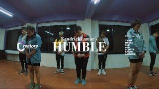 Creators X Groovy Boys | Kendrick Lamar - HUMBLE | Dance Choreography