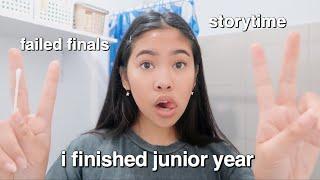GRWM + Last Day  of Junior Year Vlog