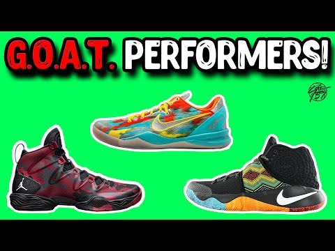 Over The Years... What Are The GOAT Performing Basketball Shoes!?