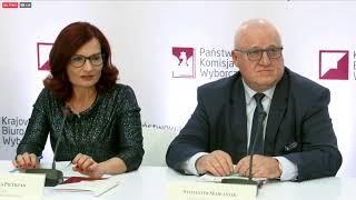 Konferencja Państwowej Komisji Wyborczej   OnetNews