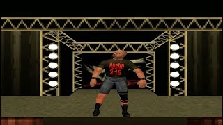 WWF/WWE Attitude - King of The Ring With Stone Cold Steve Austin (PS1)