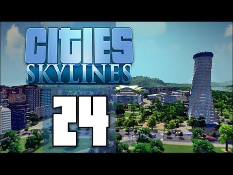 Cities Skylines: НОВ НЕБОСТЪРГАЧ и ТЕАТЪР - Епизод #24 (Bulgarian Gameplay)