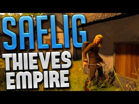 SAELIG - Dark Age Life Simulator - Building A Thieves Guild! - SAELIG Gameplay Highlights Pt 1
