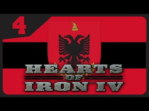 HOI4 Millennium Dawn Mod - Modern Day Albania #4 - Macedonia BTFO