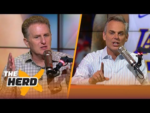 Michael Rapaport says LeBron's Lakers are finals favorites, CP3's contract and more | NBA | THE HERD
