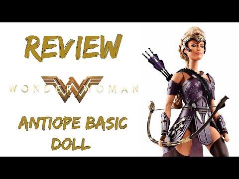 Review General Antiope Wonder Woman Barbie Collector Dol PT BR