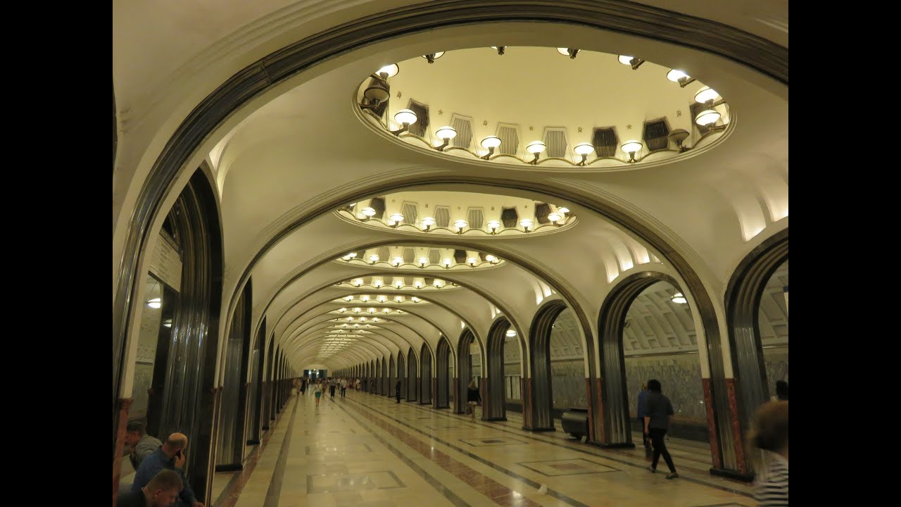 Ten Beautiful Metro Stations Subways Of Moscow Russia YouTube - The 12 most beautiful metro stations in the world
