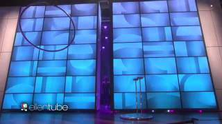 Sofie dossi on the Ellen show