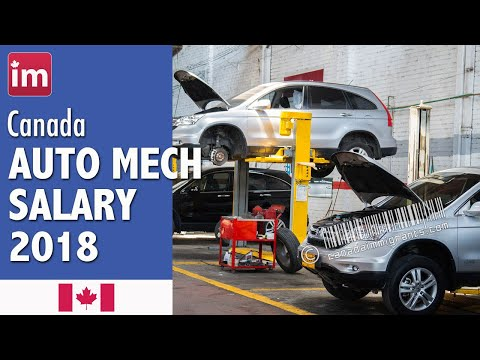 Auto Mechanic Salary In Canada (2018) - Salaries In Canada