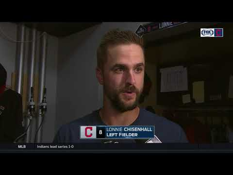 Lonnie Chisenhall commends Kipnis, says it was fun to watch Bauer   Indians vs. Yankees ALDS Game 1