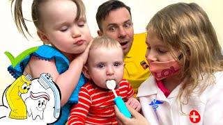 Five Kids Dentist Song + more Children's Songs and Videos