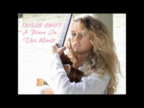Taylor Swift Age 13 A Place In This World - Priceless