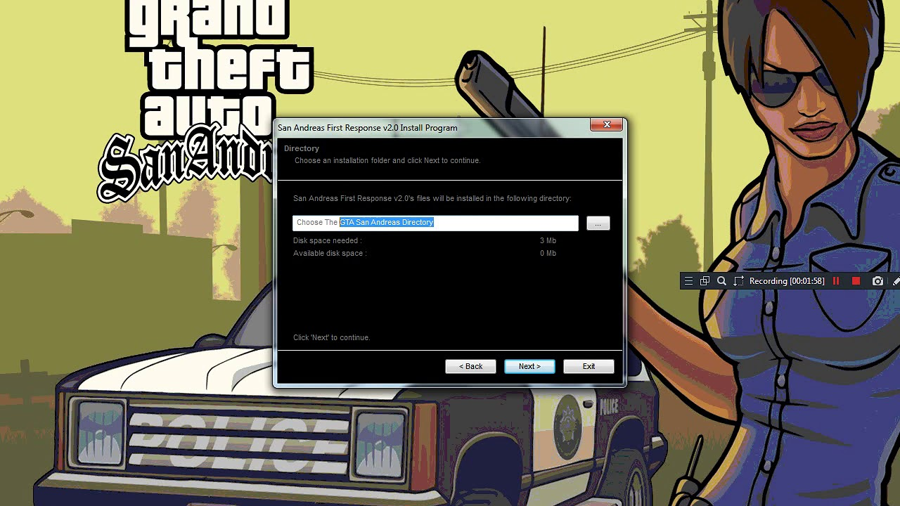 How to install gta san andreas free in pc