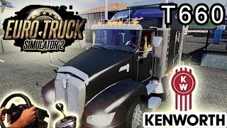 Kenworth T660 - American Trucking (Euro Truck Simulator 2, New TSM Map mod)! Full HD 2014.