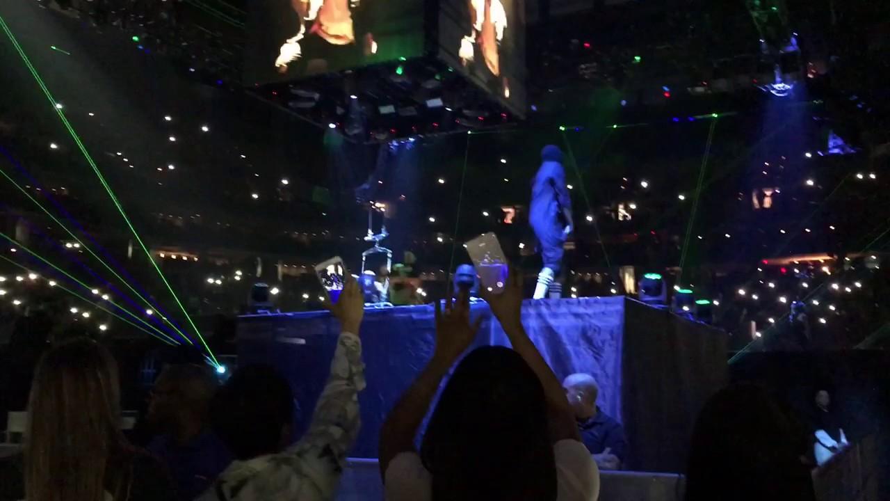 Chris Brown Opening Performance Party Tour Boston TD Garden 4/2/27