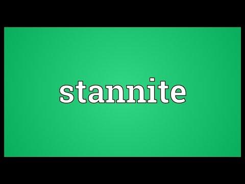 Header of stannite