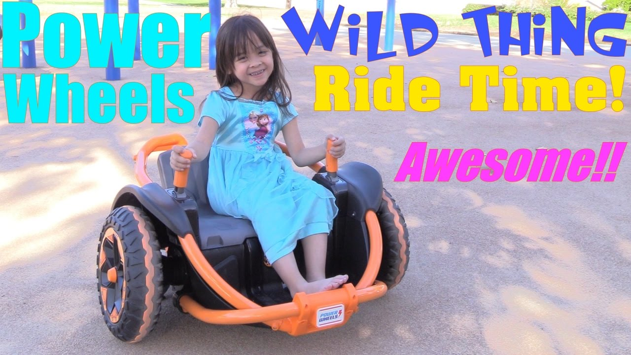 Power Wheels Wild Thing Ride at the Park  Fisher-Price 12 Volts Ride-On Toy  Playtime