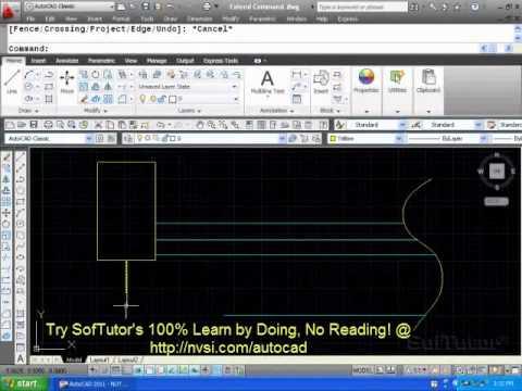 AutoCAD 2D - Extend Command