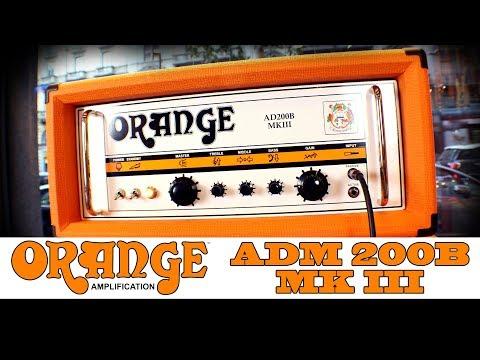 Orange AD200B MK III Bass Amp!