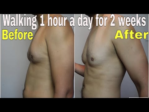 Walking 1 hour a day for 2 weeks weight loss challenge results