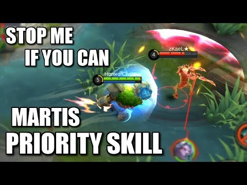 MARTIS NEW CC PRIORITY SKILL BEATS THE OTHER SKILLS