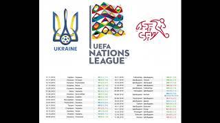 Украина Швейцария прогноз 3 сентября Лига Наций 1 тур