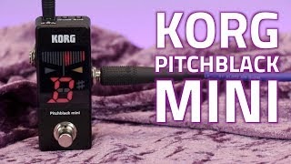 Korg Pitchblack Mini Tuner Ped…