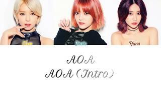 AOA (에이오에이) - AOA (Intro) Han/Rom/Eng Color Coded Lyrics