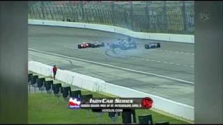 IndyCar Series - Kenny Brack crash Texas 2003 - High Quality