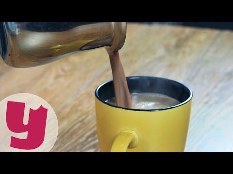 Daha Önce İçmediniz: 3 Dakikada Sıcak Çikolata [İZLE]