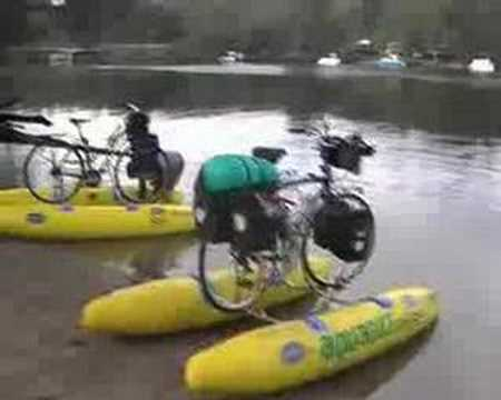Cycling On Water Youtube