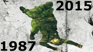 Evolution of CQC in the Metal Gear Series