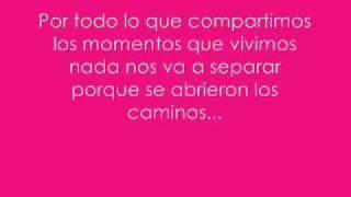 Letra de la cancion ''No te digo Adios'' Teen Angels..