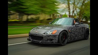 9000RPM S2000 BACK ROAD RIPPING (SCREAMING VTEC!!!)