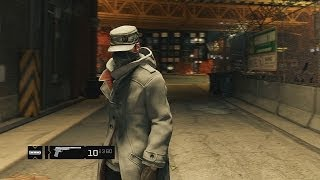 Watch Dogs - White Hat Hacker Outfit Pre-Order DLC - PS4 Gameplay