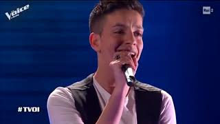 WHEN WE WERE YOUNG -  (Adele) - JOSUE PREVITI - blind auditions - The Voice of Italy 2019