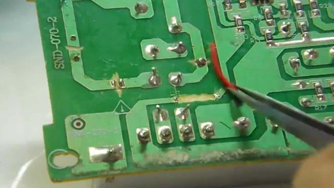 Circuito Eletronica : Dica de eletrônica como refazer trilha em circuito