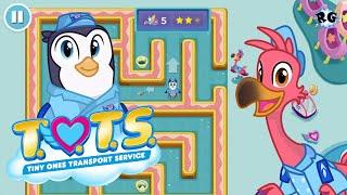 TOTS: Servicio de entrega de animalitos - Busca los objetos y supera el laberinto - Disney Junior