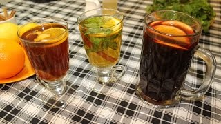 Глинтвейн, Имбирный чай, Марокканский чай