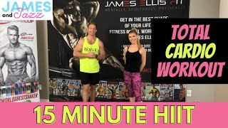 15 Minute Workout || Cardio Workout || Fat Burning || Bodyweight Workout || At Home Workout || HIIT