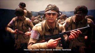 "BATTALION 1944 - Official Gameplay Trailer ""NEW World War 2 Game"" (2018)"