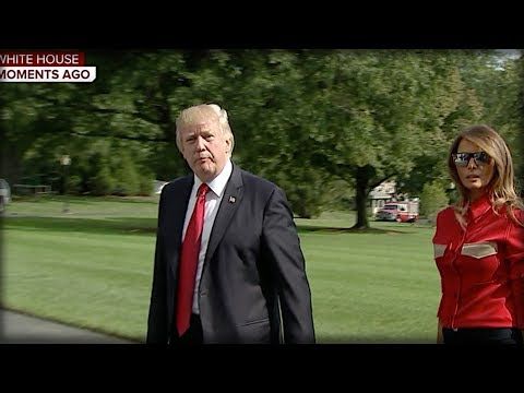 REPORTER ASKED TRUMP ABOUT HURRICANE, THE SEVEN WORDS HE SAID NEXT MADE HER HEART STOP