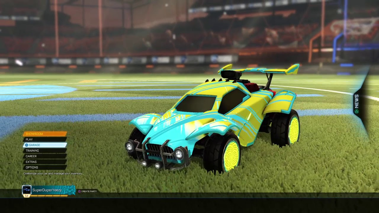 Rocket League Best V Car