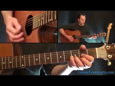 Hole Hearted Guitar Lesson - Extreme