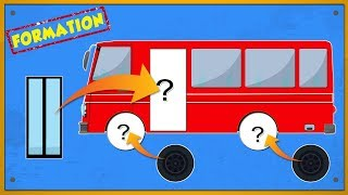 Formation of Bus | Video For Kids and babies