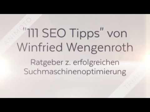 111 SEO Tipps eBook & Print von Winfried Wengenroth (Buchtrailer)