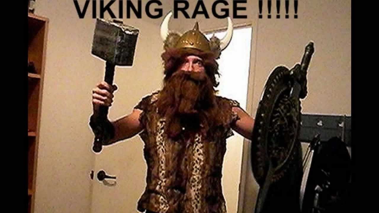 Johan The Vikings Rage Funny Video Look Youtube