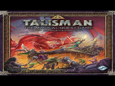 How To Play: Talisman W/ All Expansions